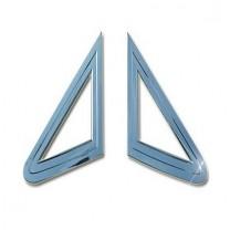 [AUTO CLOVER] SsangYong Actyon / Sports - A-Pillar Chrome Molding Set (A902)