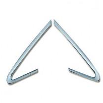 [AUTO CLOVER] KIA All New Pride - A Pillar Chrome Molding (C171)