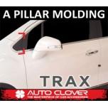 [AUTO CLOVER] Chevrolet Trax - A Pillar Chrome Chrome Molding Set  (C175)