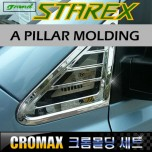 [CROMAX] Hyundai Grand Starex - A Pillar Chrome Molding Set