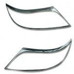 [AUTO CLOVER] KIA Sorento R - Head Lamp Chrome Molding Set (B638)