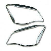 [AUTO CLOVER] SsangYong Korando C - Head Lamp Chrome Molding Set (B731)