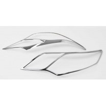 [AUTO CLOVER] Toyota Camry​ - Head Lamp Chrome Garnish Set (C471)