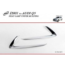 [KYOUNG DONG] Audi Q5 - Chrome Head Lamp Under Molding Set (D-901)