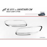 [KYOUNG DONG] Hyundai Santa Fe CM - Head Lamp Chrome Molding Set (K-955)