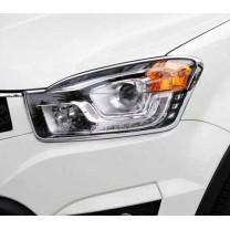 [KYUNG DONG] SsangYong New Korando C 2014 - Head Lamp Chrome Molding Set (K-970)