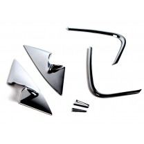 [KYOUNG DONG] KIA K5 - A & C pillar Chrome Molding Set (K-040)