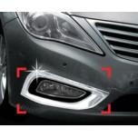 [AUTO CLOVER] Hyundai Grandeur HG - Fog Lamp Chrome Molding Set (C424)