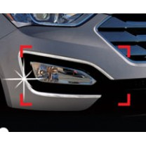[AUTO CLOVER] Hyundai Santa Fe DM - Fog Lamp Chrome Molding Set (C452)