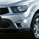 [AUTO CLOVER] SsangYong Korando Sports - Fog Lamp & Reflector Garnish Set (C427)