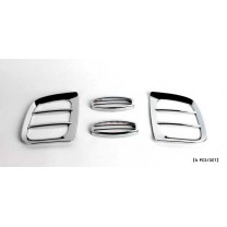 [KYOUNG DONG] KIA Bongo III - Fog Lamp Chrome Molding Set (K-025)