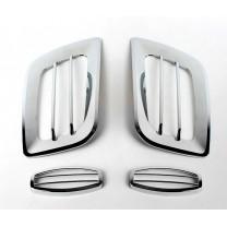 [KYUNG DONG] Hyundai Porter II - Fog Lamp Chrome Molding Set (K-026)