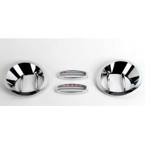 [KYOUNG DONG] Hyundai Porter II - Fog Lamp Chrome Molding Set (K-027)
