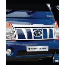 [AUTO CLOVER] Hyundai Porter II - Radiator Grille Chrome Molding Set (C733)