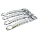 [AUTO CLOVER] SsangYong Rodius - Door Catch Chrome Molding Set (A267)