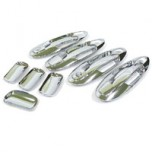 [AUTO CLOVER] Hyundai New EF Sonata - Door Catch Chrome Molding Set (A271)