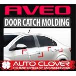 [AUTO CLOVER] Chevrolet Aveo - Door Catch Chrome Molding Set (A288)