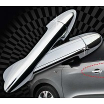 [AUTO CLOVER] Hyundai i30 - Door Catch Chrome Molding (B801)
