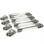 [AUTO CLOVER] Hyundai NF Sonata / Transform Door - Door Catch Chrome Molding (B829)