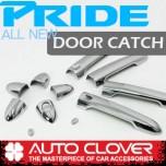 [AUTO CLOVER] KIA All New Pride (4Dr/5Dr) - Door Catch Chrome Molding Set (B861)