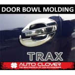 [AUTO CLOVER] Chevrolet Trax - Door Bowl Chrome Molding Set (C065)