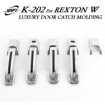 [KYUNG DONG] SsangYong Rexton W - Door Catch Chrome Molding Set .(K-202)