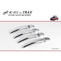 [KYOUNG DONG] Chevrolet Trax -  Door Catch Chrome Molding Set (K-451)