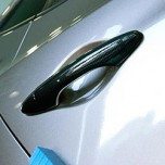[ARTX] Hyundai Avante MD - Carbon Skin Door Catch Molding Set