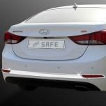 [KYUNG DONG] Hyundai The New Avante MD - Rear Bumper Chrome Molding Set (K-514)