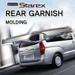 [HSM] Hyundai Grand Starex - Rear Garnish Chrome Molding Set