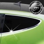 [KYOUNG DONG] Hyundai Veloster - C Pillar Chrome Molding Set (K-047)