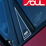 [ARTX] KIA Soul - Luxury Generation C Pillar Molding Set