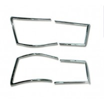 [AUTO CLOVER] Hyundai NF Sonata Transform - Rear Lamp Chrome Molding Set  (A797)