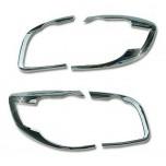 [AUTO CLOVER] Hyundai Santa Fe The Style - Rear Lamp Chrome Molding Set (B662)