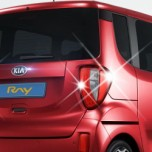 [AUTO CLOVER] KIA Ray - Rear Lamp Chrome Molding Set  (C438)