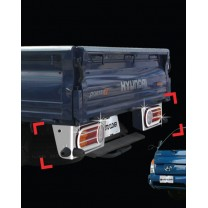 [AUTO CLOVER] Hyundai Porter II - Rear Lamp Chrome Molding Set  (C459)