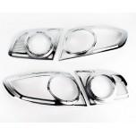 [KYOUNG DONG] Hyundai Santa Fe CM - Rear Lamp Chrome Molding Set (K-544)