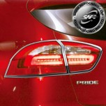 [KYOUNG DONG] KIA All New Pride Hatchback - Rear Lamp Chrome Molding Set (K-585)