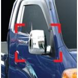 [AUTO CLOVER] KIA Bongo III - Side Mirror Chrome Molding Set (A396)