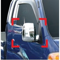[AUTO CLOVER] KIA Bongo III - Side Mirror Chrome Molding Set (A396)