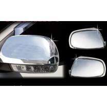 [AUTO CLOVER] Hyundai Santa Fe CM / The Style - Side Mirror Chrome Molding (A798)  - LED Type