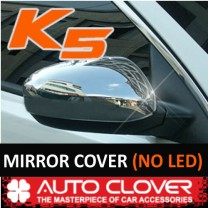 [AUTO CLOVER] KIA K5 - Side Mirror Chrome Molding Set (B688) - Normal