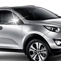 [AUTO CLOVER] KIA Sportage R - Side Mirror Chrome Molding Set (B694)