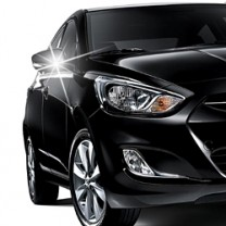 [AUTO CLOVER] Hyundai New Accent / Avante MD - Side Mirror Chrome Molding Set (B723)