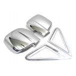 [KYOUNG DONG] Hyundai Grand Starex - Side Mirror & A Pillar Cover Chrome Molding Set (K-365)