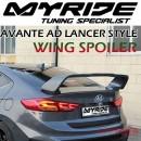 [MYRIDE] Hyundai Avante AD - Lancer Style Rear Wing Spoiler