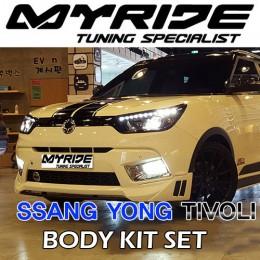 [MYRIDE] SsangYong Tivoli - Full Aeroparts Body Kit
