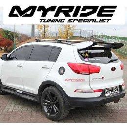 [MYRIDE] KIA Sportage R  - GT-WING Rear Roof Spoiler