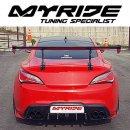 [MYRIDE] Hyundai Genesis Coupe - Rear Diffuser F-Type