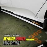 Боковые юбки Ver.1 - KIA Forte (MYRIDE)